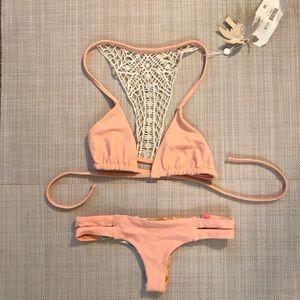 Bettinis top and San Lorenzo bottom swimsuit set